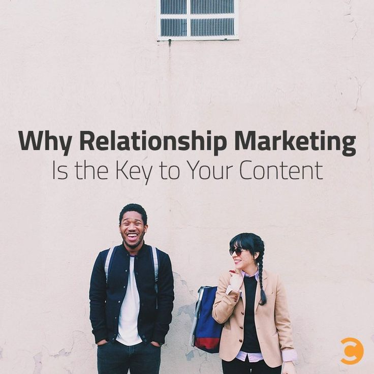 Why Relationship Marketing Is the Key to Your Content. Content Marketing.