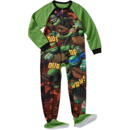 Boys' Licensed Footed Blanket Sleeper Pajama, Size: 10/12