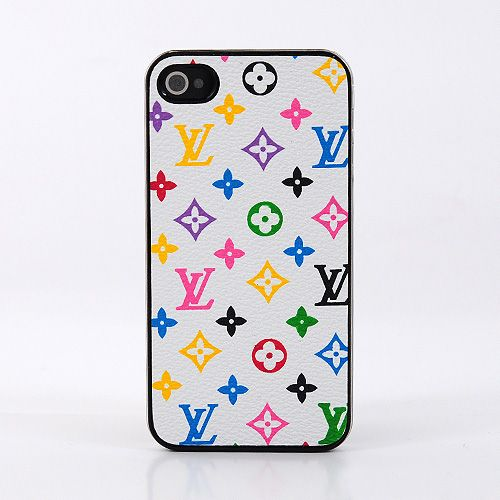 Louis Vuitton iPhone 4 Case LV iPhone 4S Case Monogram White