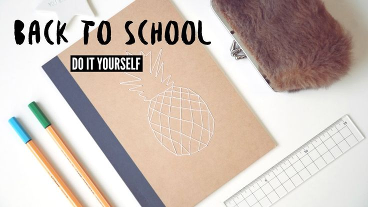 4 DIY- BACK TO SCHOOL / ORGANISATION