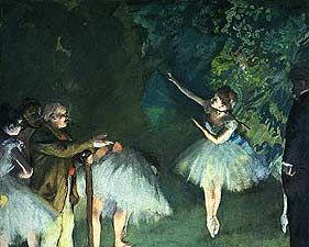 Ballet Rehearsal - Edgar Degas, 1834-1917 - OldMastersOnline.com