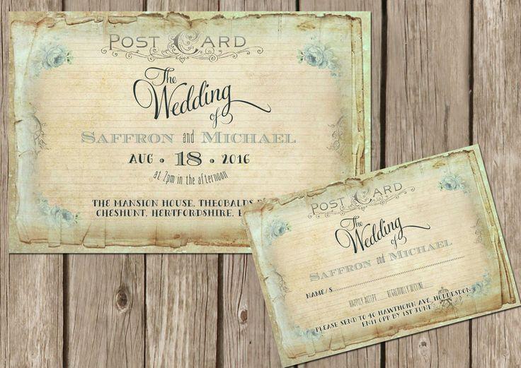 best 25 postcard wedding invitation ideas on pinterest postcard invitation tri fold wedding invitations and wedding invitation - Postcard Wedding Invitations
