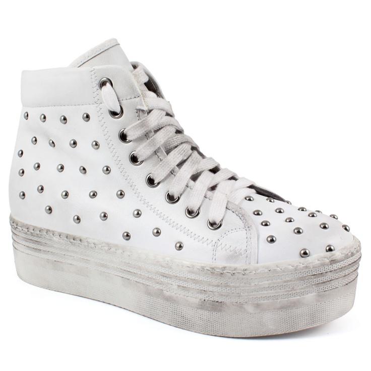 Scarpe moda donna: Mocassini e Stringate 3002 Bianco