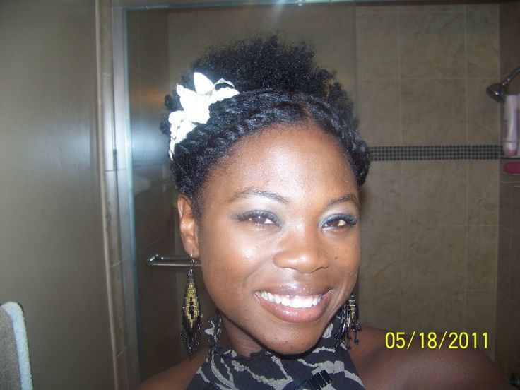 4 Gorgeous Easy Styles For Short To Mid Length Natural Hair