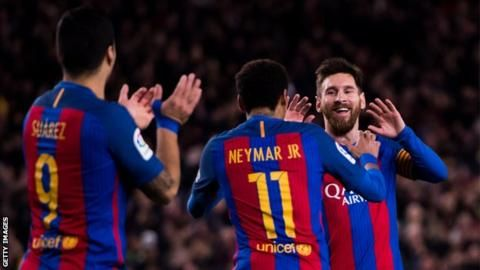 Barcelona Vs PSG UCL (6 - 1) On 8th March 2017 - European Football ...