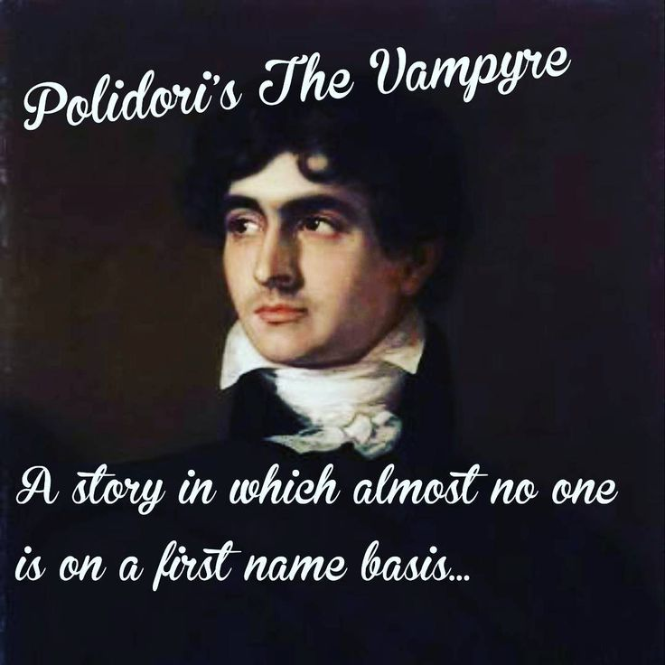 """9 Likes, 1 Comments - the FrankenPod (@thefrankenpod) on Instagram: """"Hey Polidori, how come Ianthe is the only character who gets a first name? #thevampyre #amreading…"""""""