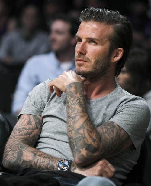 Why yes Mr. Beckham! Of course.