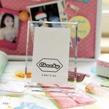 Crystal Photo Frame for Fujifilm Instax Mini Film
