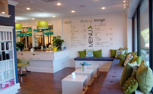 13 original salon decorating ideas hair pinterest waiting area receptions and salon services - Salon original ...