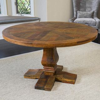 Shop for Christopher Knight Home California Vintage Round Mango Wood Dining Table (ONLY). Get free shipping at Overstock.com - Your Online Furniture Outlet Store! Get 5% in rewards with Club O!