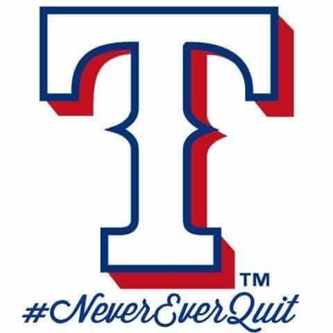 """Wincraft Texas Rangers 8"""" x 8"""" Die-Cut Decal"""