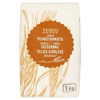 Tesco teljes kiőrlésű búzaliszt 1 kg