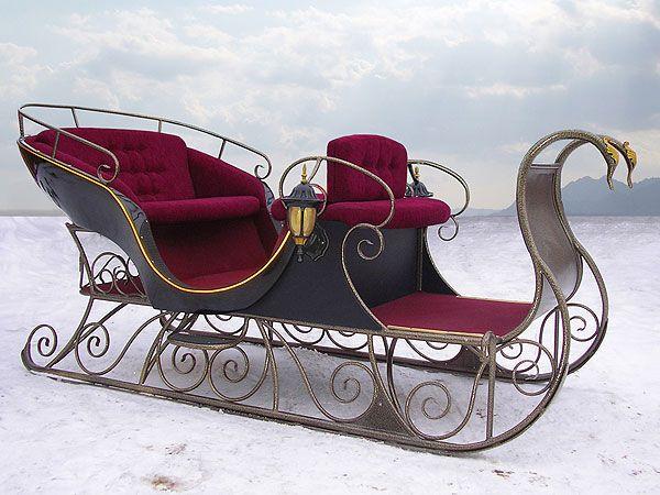 Сани и саночки. 17-19 в.. Комментарии : LiveInternet - Российский Сервис Онлайн-Дневников  Now this is a sleigh!