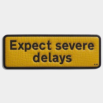 Expect Severe Delays Sticker