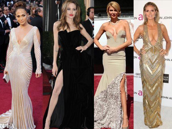 Revealing Dresses at Academy Awards | 18 Most Revealing Oscars Dresses In History - Boldsky.com