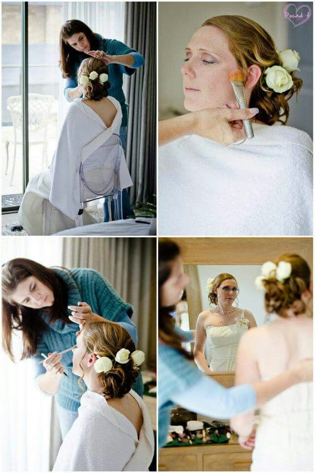 Neo Hair Mossel Bay. Wedding hair & makeup done by Suzette. Www.neohair.co.za