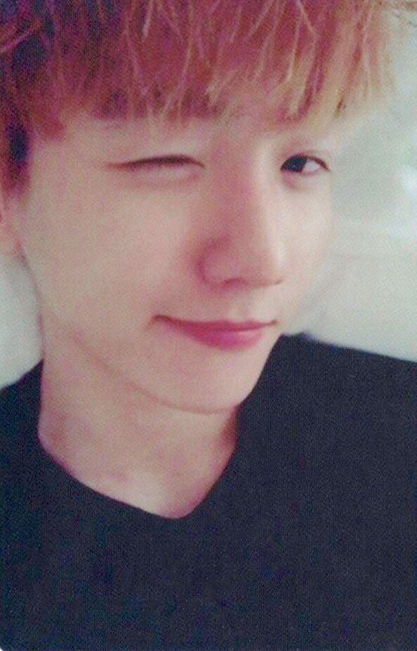 EXO Baekhyun selca selfie