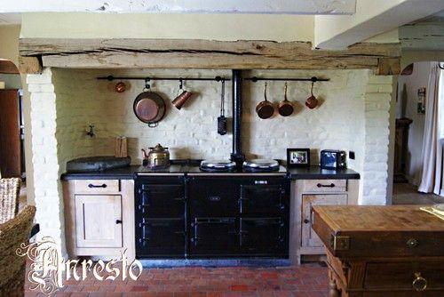 AGA antiek fornuis inbouw bij Anresto : Cuisinière. Inbouw fornuis. Merk AGA. Ook voor het inbouwen van deze fornuizen kunt u bij Anresto terecht.  http://www.antiek-anresto.be | anresto