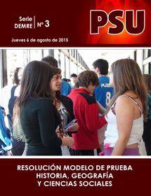 Resolución Modelo Historia, Geografía y Ciencias Sociales