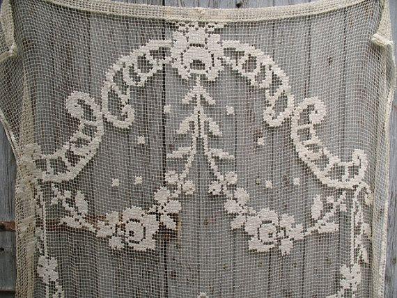 17 Best Images About Filet Crochet Curtains On Pinterest