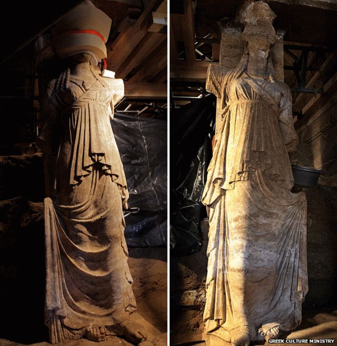 Archaeologists agree that the magnificence of the tomb means it was built for a prominent person - perhaps a member of Alexander's immediate family; maybe his mother, Olympias, or his wife, Roxana -or some noble Macedonian.