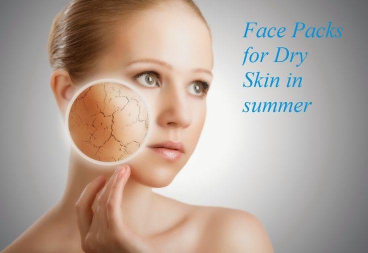 face packs for dry skin in summer