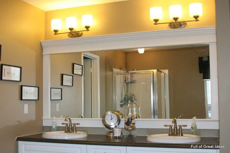 21 Best Bathroom Mirror Ideas To Reflect Your Style: Best 25+ Large Bathroom Mirrors Ideas On Pinterest