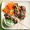 Easy to assemble and fun to eat, kabobs are a great choice for Fourth of July dinner gatherings. Choose from fruit, seafood, or even chicken-and-biscuit kabobs for a crowd-pleasing Fourth of July din...see more