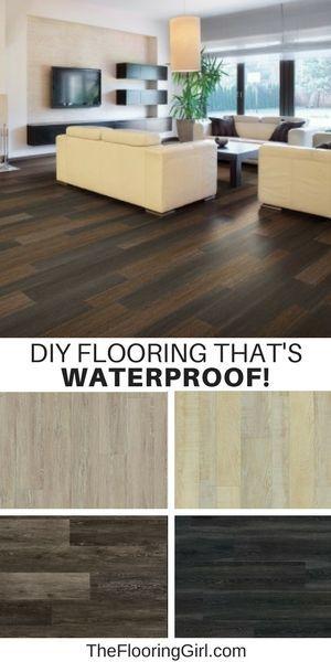 Best 25 Waterproof Flooring Ideas On Pinterest Basement