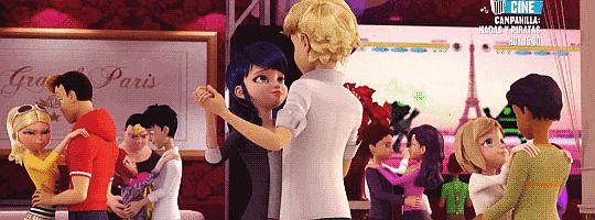 Alya and Nino are the worlds most dedicated Adrienette fan. God bless season 2 of miraculous with this dance scene.