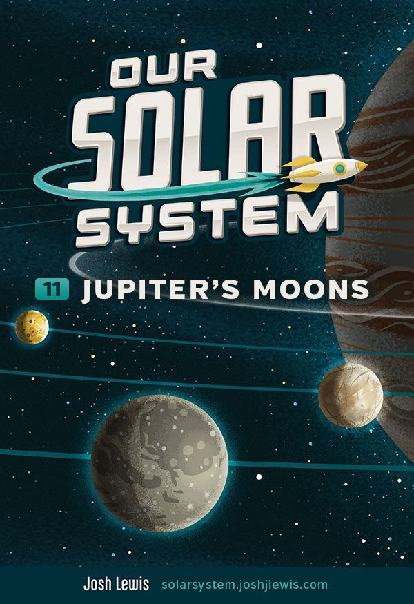 New post: Learn about Jupiter's moons. There are 68 known moons! The Galilean moons Io, Eurpoa, Ganymede and Callisto are amazing and unique worlds! http://solarsystem.joshjlewis.com/jupiters-moons.html #solarsystem #space #illustration #science #kids #education #teachers #cosmos #planets