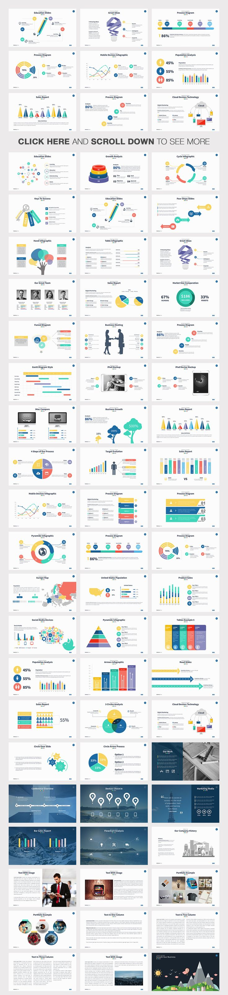 Moderna Powerpoint Template by Slidedizer on Creative Market