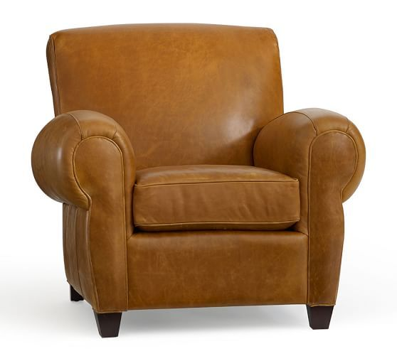 Manhattan Leather Armchair Leather Recliner Leather