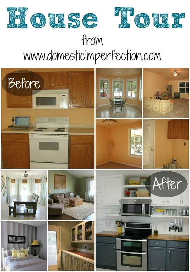 Domestic Imperfection house tour - loads of budget friendly projects and inspiration!