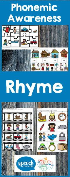 Do you know what's one of the best predictors of how well a child will learn to read? It's Rhyme.Rhyme is important because it teaches children how language works.  It helps them notice and hear the sounds within words. And it is fun!  Like many things Rhyme has a hierarchy that children work through as they develop their knowledge of rhyme. This resource provides activities for each stage.