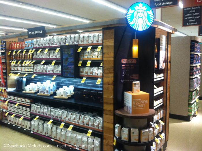 Starbucks aisle reinvention @ Safeway.