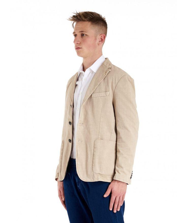 Jacket Piero Malamocco Sabbia -   Spring-Summer Barena Venezia  www.barenavenezia.com