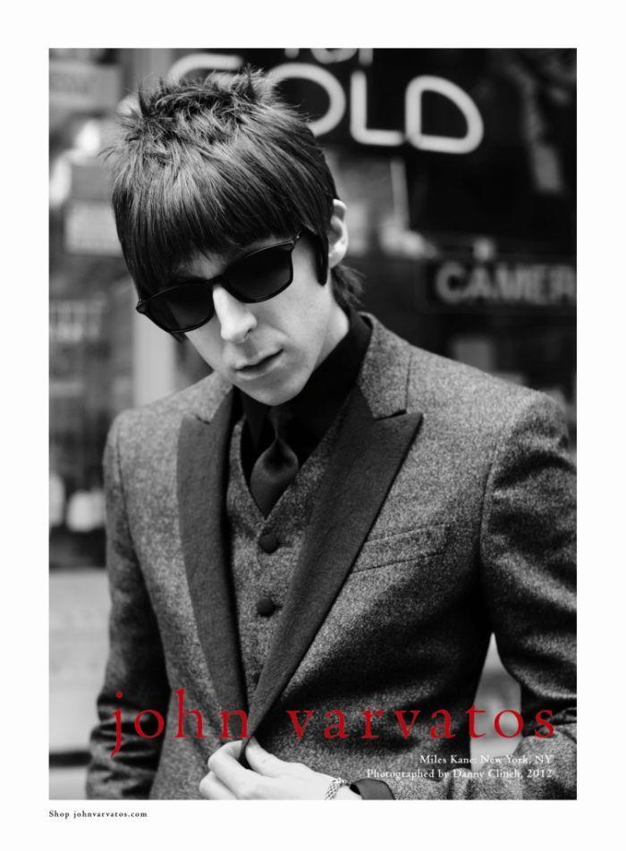 Paul Weller & Miles Kane Star in John Varvatos Fall/Winter 2012 Campaign