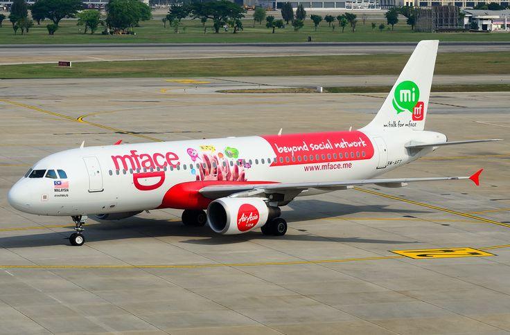 Air Asia Airbus A320-200 (mFace)