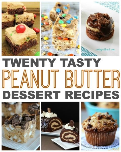 Twenty Tasty Peanut Butter Desserts - This Gal Cooks