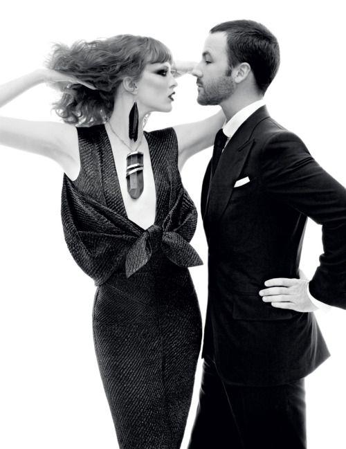 Karen O'Neil, Fashion, Steven Meisel, Spring Collection, Karen Elson, Tomford, Tom Ford, Vogue Magazine, Men Wear