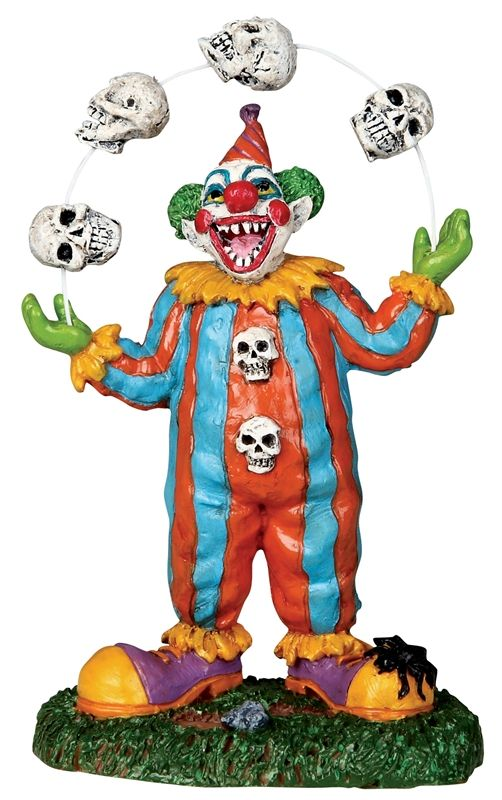 Evil Clown Juggler-how can you not want this guy?