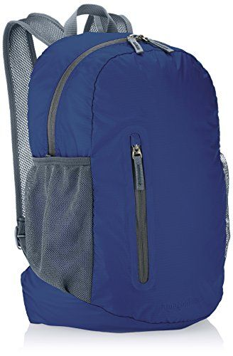 AmazonBasics Ultralight Packable Day Pack - Navy Blue 35L