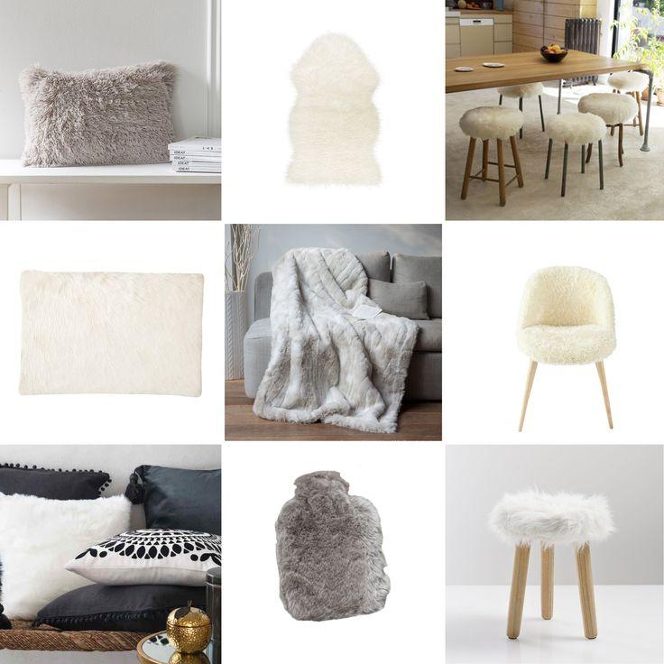 Looking for du poil dans ma déco - inspiration décoration - home decor inspiration with fur - www.pierrepapierciseaux.be