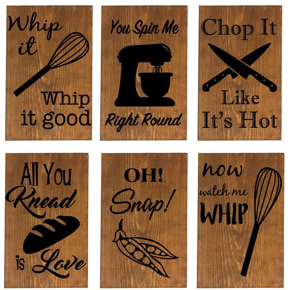 24 Phrases Available Funny Kitchen Sign Wall Decor Kitchen