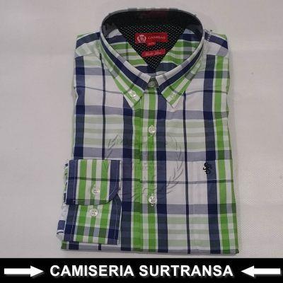 Camisa Cuadros Surtransa 1131