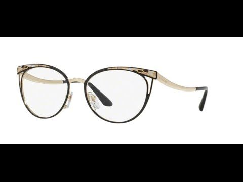 Bvlgari 2186 Eyeglasses 2018 BLACK PALE GOLD