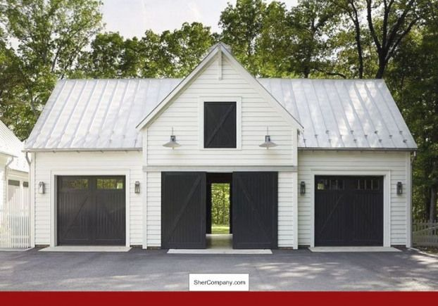 Shed Construction Cost Calculator And Pics Of Quonset Shed Plans 40103354 Outdoorideas Diyshedplans Shedp In 2020 Garage Door Design Farmhouse Garage Garage Design