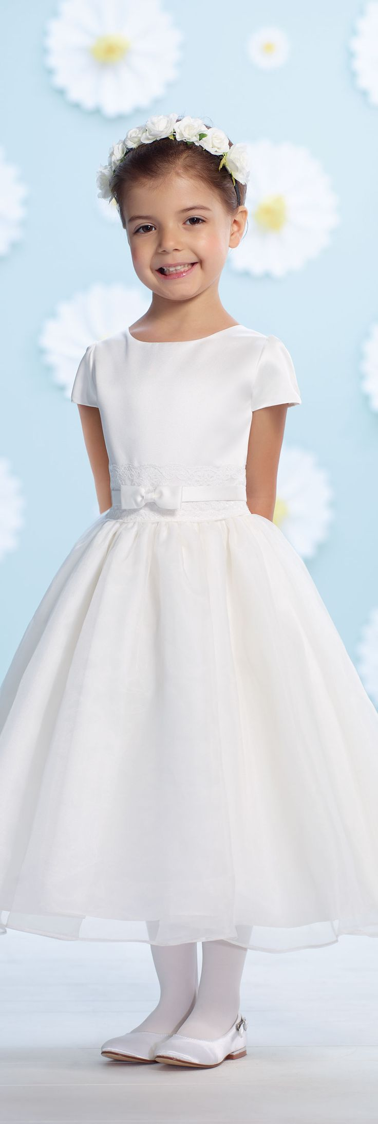 Joan Calabrese for Mon Cheri - Style No. 116397 #flowergirldresses