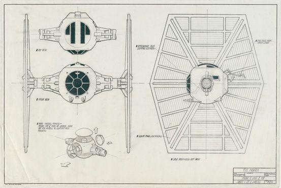 tie fighter graphic design typography illustration